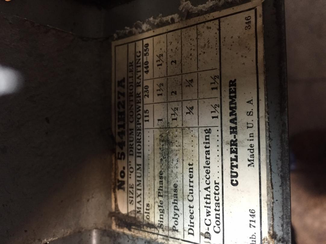 Cutler Hammer Wiring To Sb 1  2 Motor
