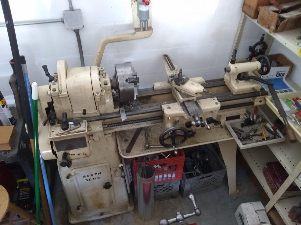 Trying To Identify An Old South Bend Lathe