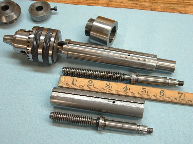 Longer 10l Tailstock Quill