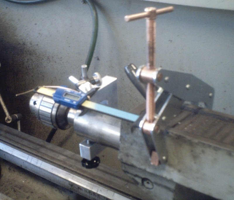 Dial Indicator Mounting In Collet : Ideas on mounting a dial indicator tailstock