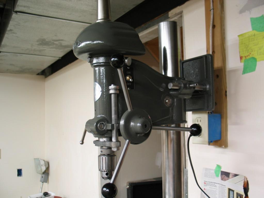 south bend drill press restoration