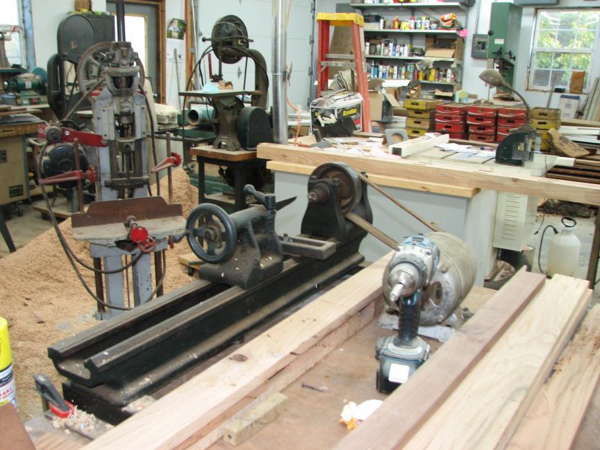 serious wood lathe