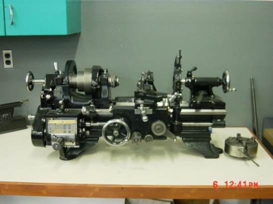 My New Lathe In Its New Home