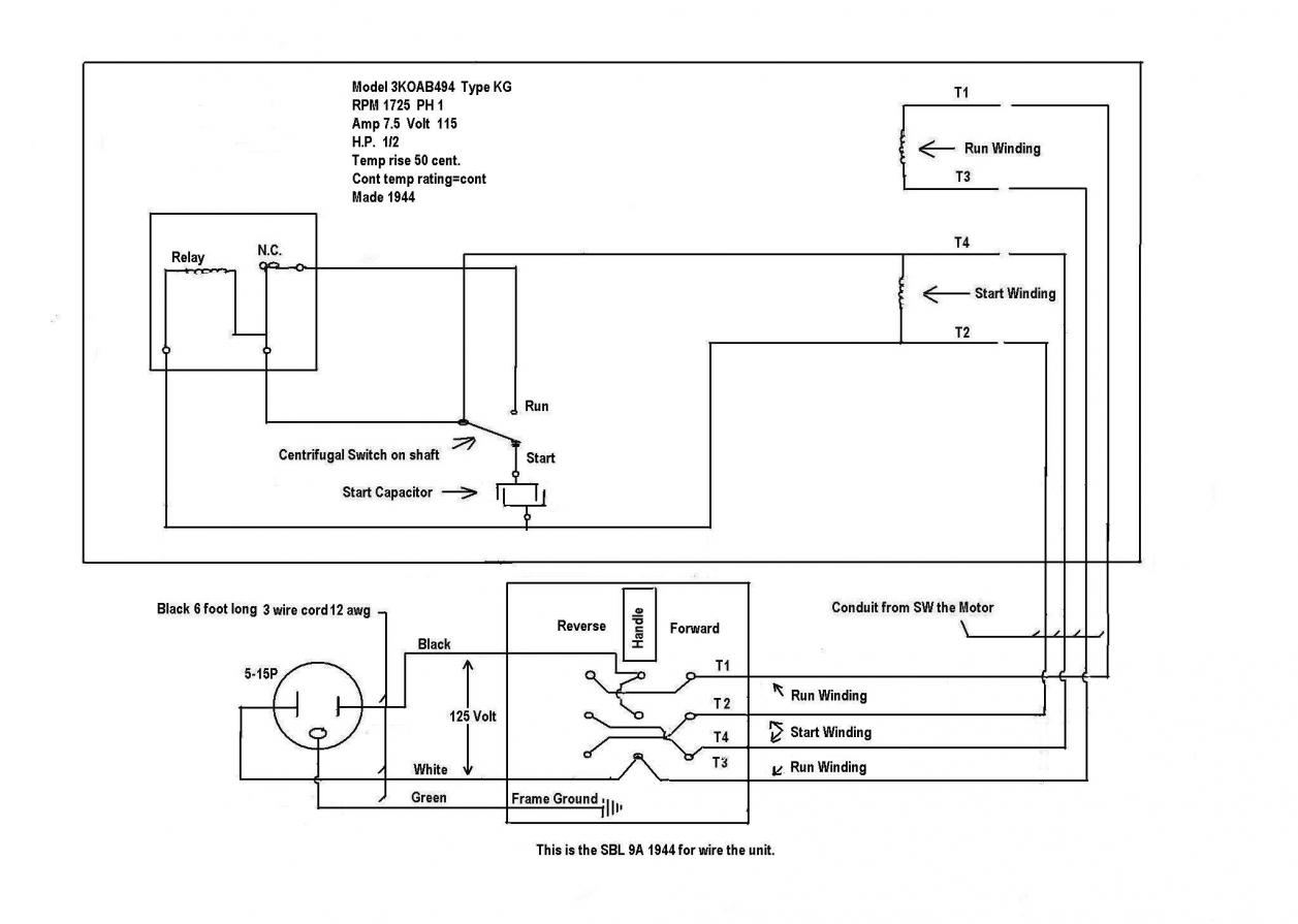 General electric refrigerator wiring diagram