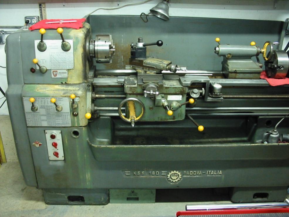Saimp Ks155 12x40 Italian Lathe