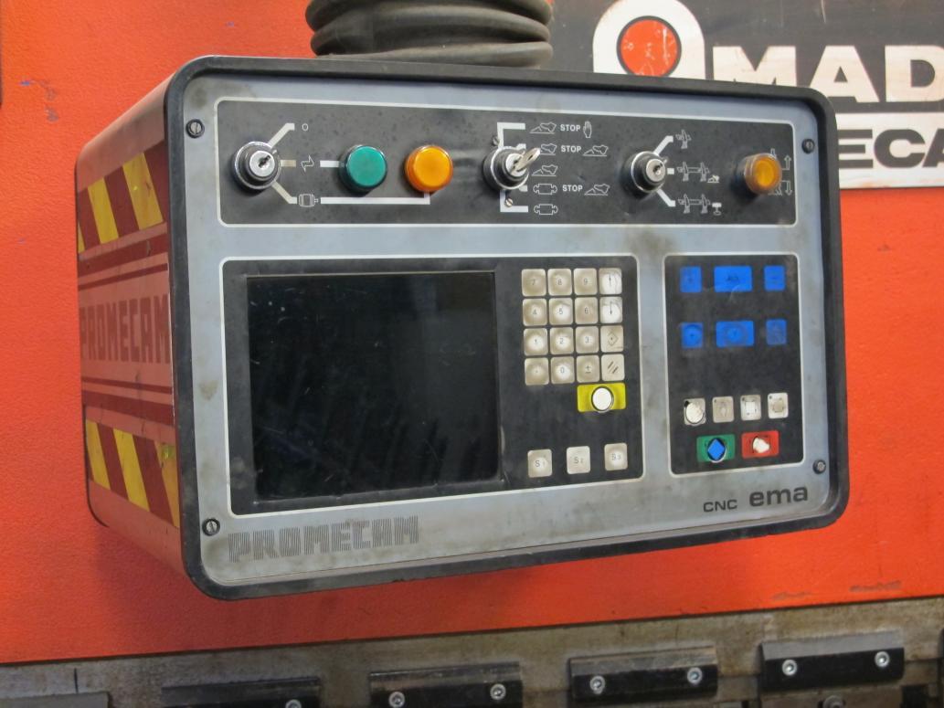 Manual for a Promecam Press Brake
