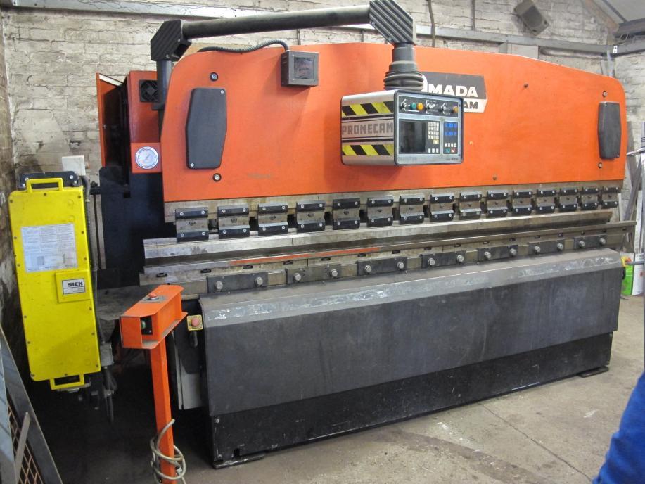 manual for a promecam press brake rh practicalmachinist com Amada Press Brake Operator Amada Press Brake Robot With