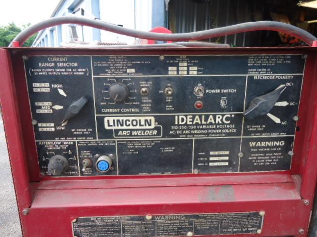 Idealarc tig 250250 help – Lincoln Idealarc Wiring Diagram