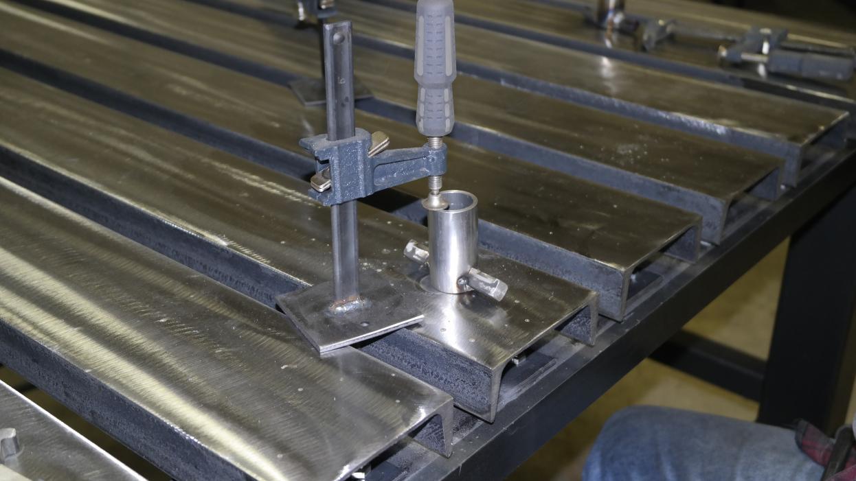 C Channel Top Welding Table