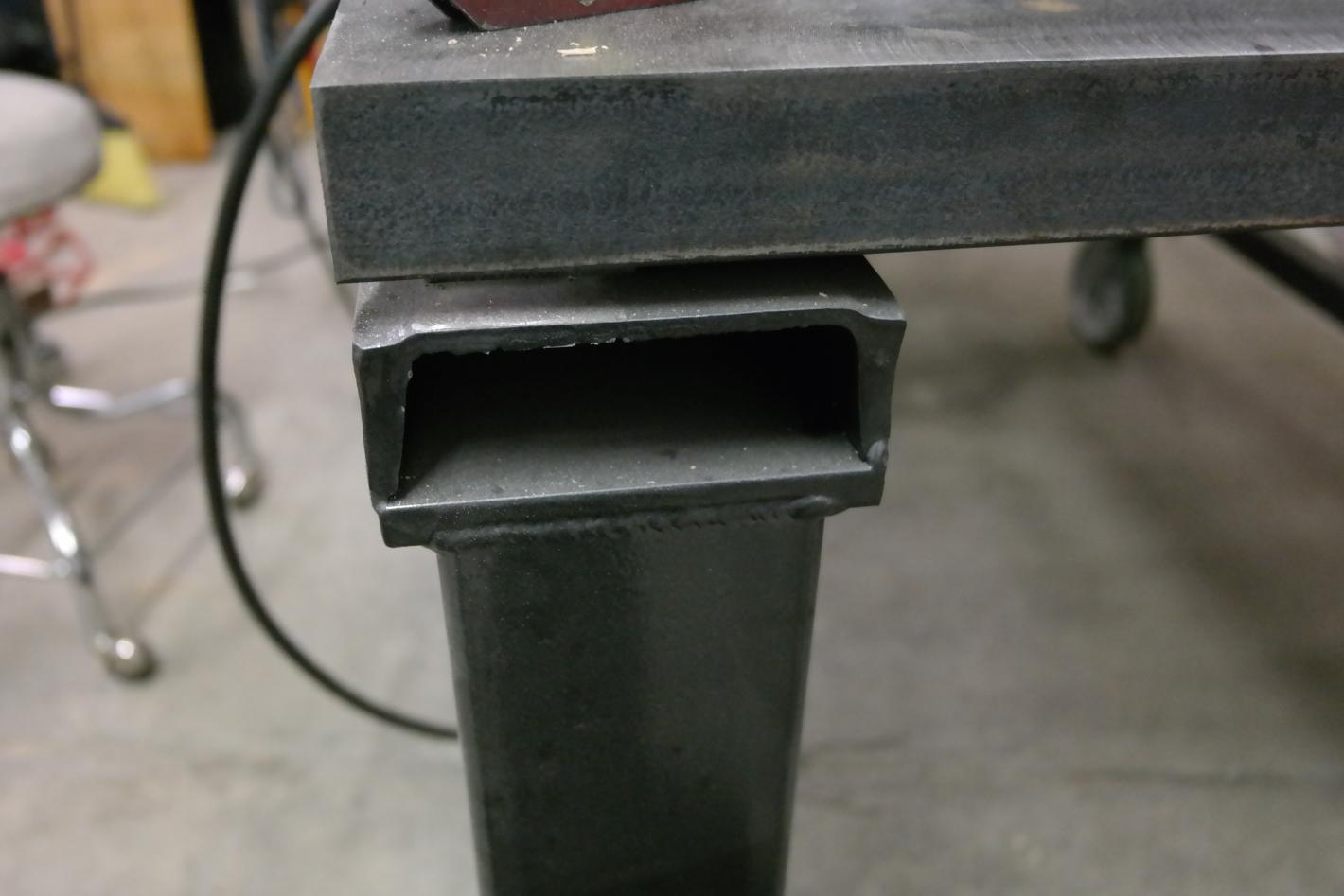 C Channel Top Welding Table Page 2