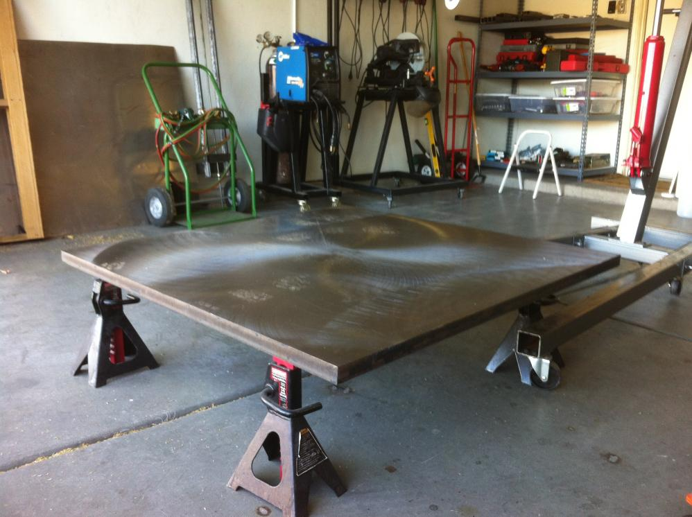 Welding Table Build