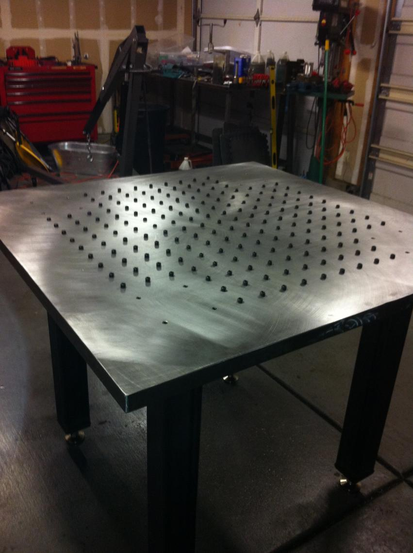Blanchard Ground Welding Table Show Off Your Welding Table