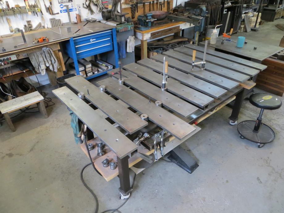 Standard duty welding table critique my plan - Plan fabrication table ...