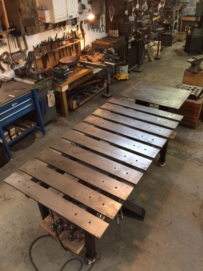 table welding duty plan critique standard diy plans practicalmachinist rolling metal tables layout fabrication fab attachments projects guardado desde far