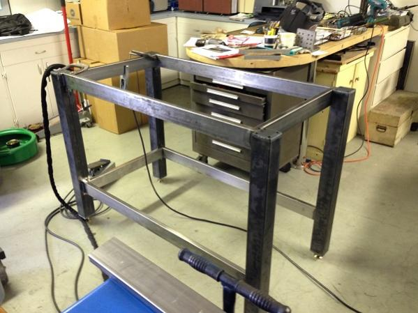 Aluminum Welding Table