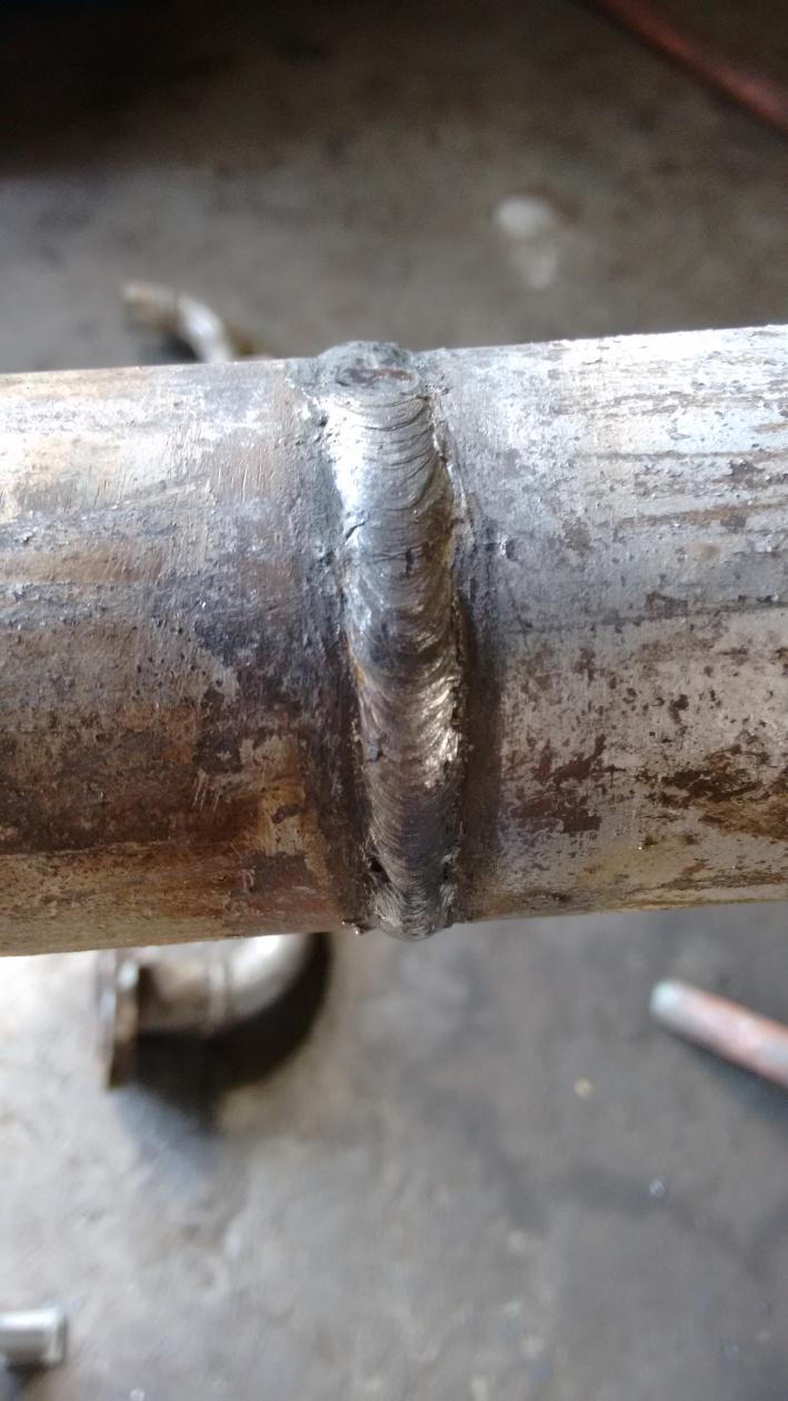 Small Diameter Pipe Stick Welding