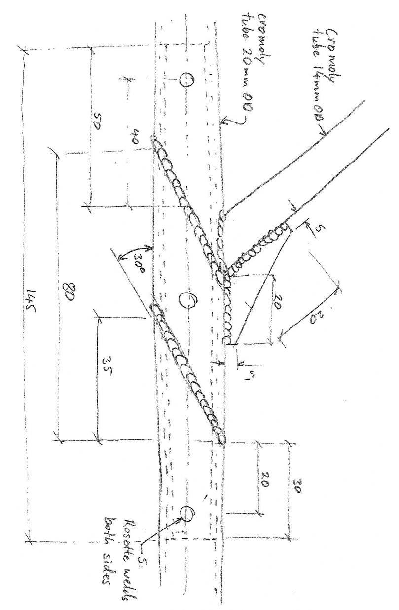 Best Method Of Snapped Racing Kart Frame Kandi Go Engine Diagram For Pinterest Repair Spliced Joint
