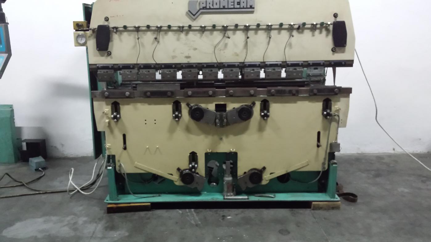 promecam itp2 press brake issue rh practicalmachinist com Amada Programing Press Break Manual HG 8025 Amada Press Brake Robot With