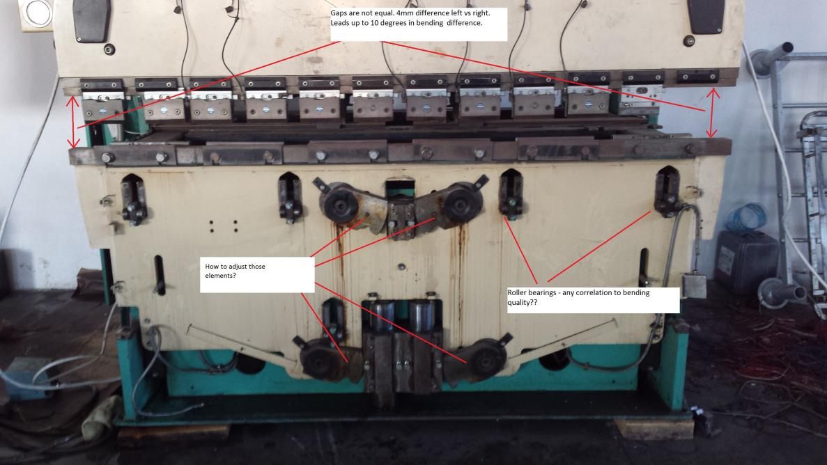 promecam itp2 press brake issue rh practicalmachinist com Amada Programing Press Break Manual Amada Press Brake Machine