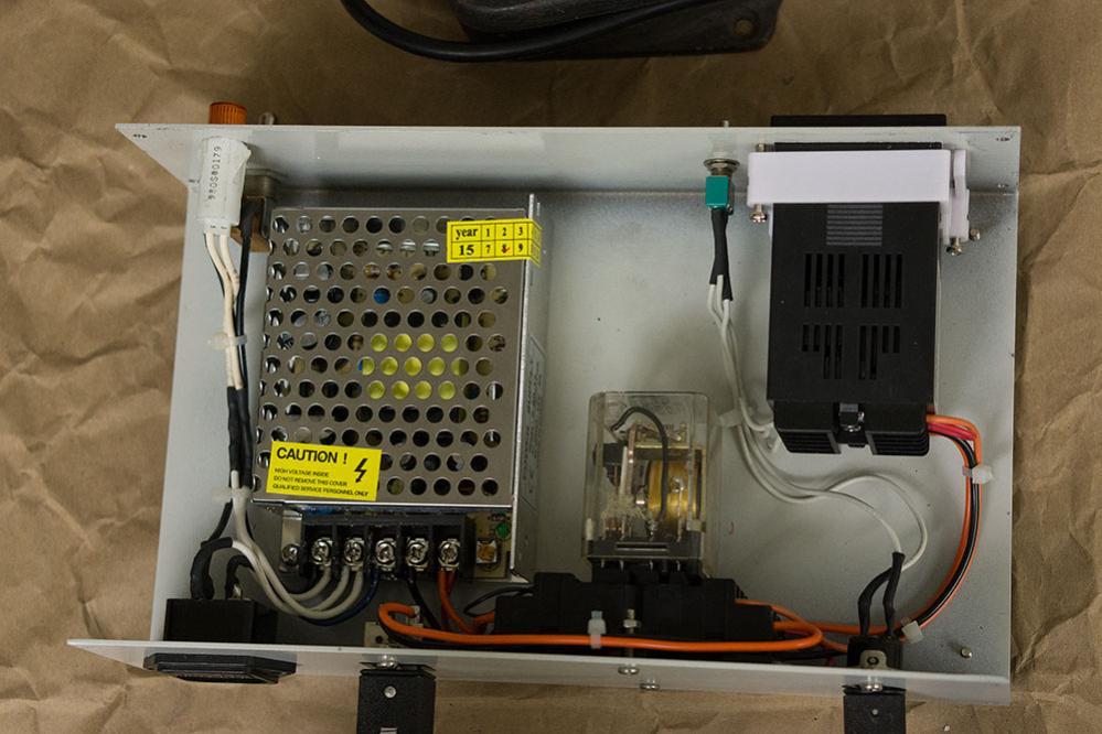 100 00 shop built tig wire feeder