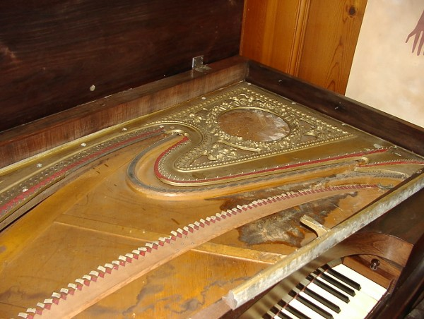 Welding Cast Iron Piano Frame