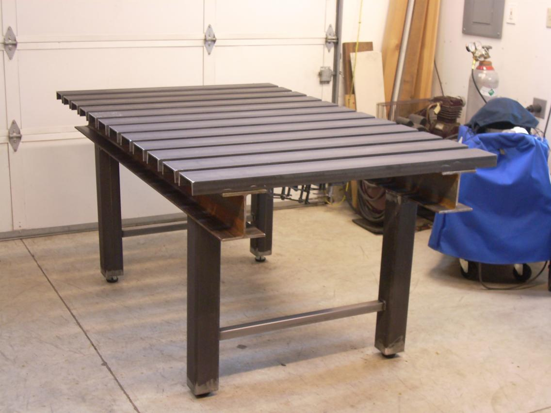 Thread Building A New Fabweld Table Part 2