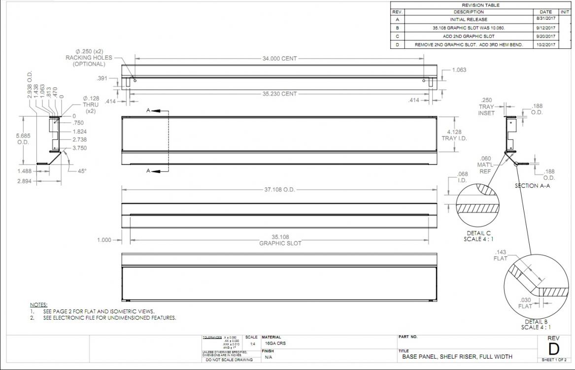 Sheetmetal Blank Size Calculating
