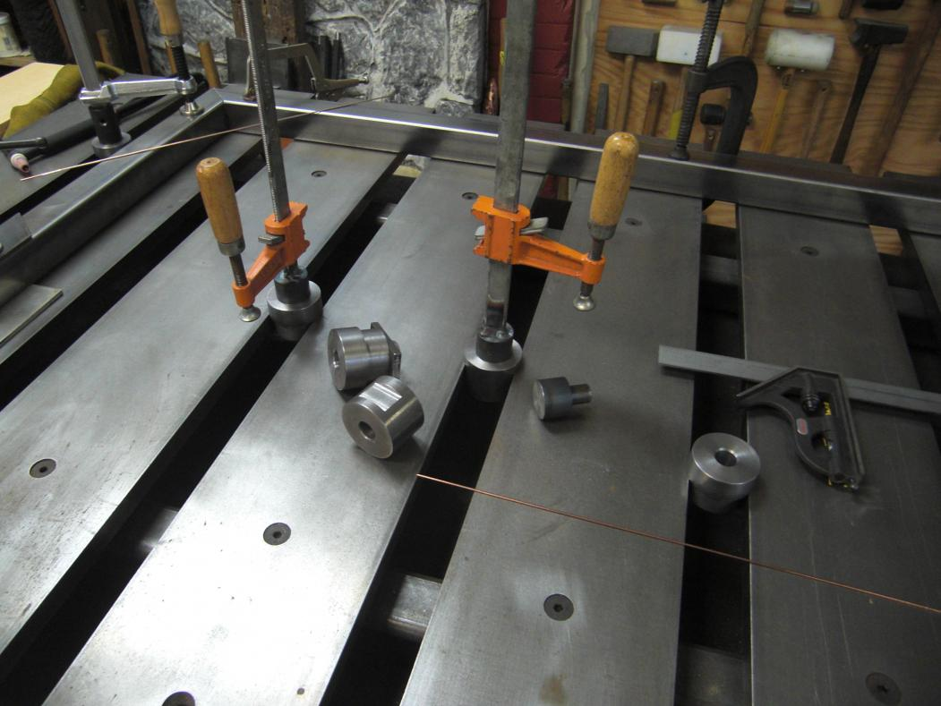 Welding Table Designs welding table vise and grinder stands im looking for ideas on how to use several Cimg7186jpg