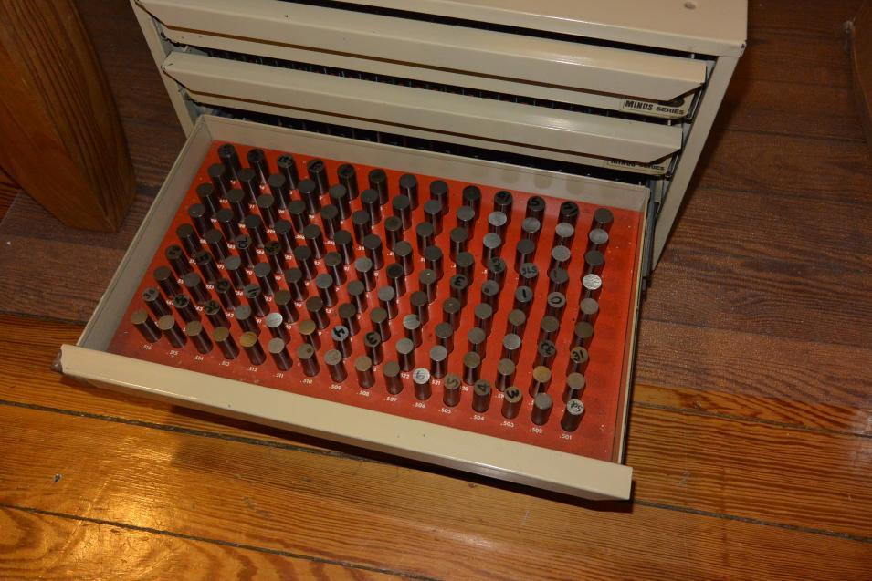 Fs Vermont Gage 0 011 Thru 0 750 Minus Pin Gauge Set