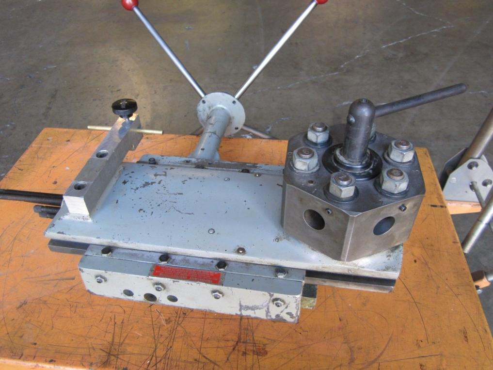 """Lathe For Sale >> Clausing 12"""" 5900 series Enco Turret tail stock"""