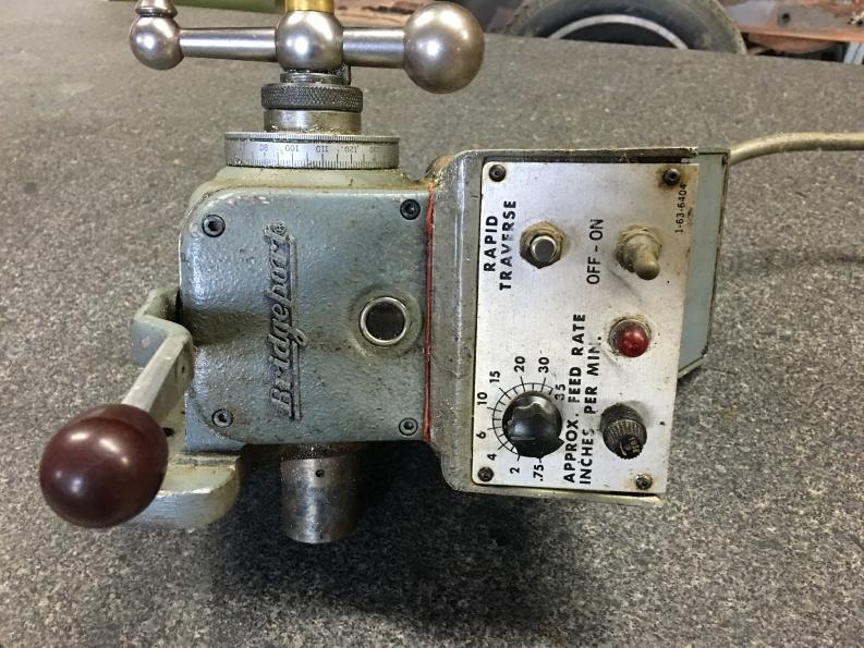 Bridgeport 8f Power Feed For Sale