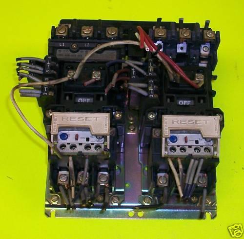 Fs Allen Bradley Two Speed Size 0 Reversing Motor Starter