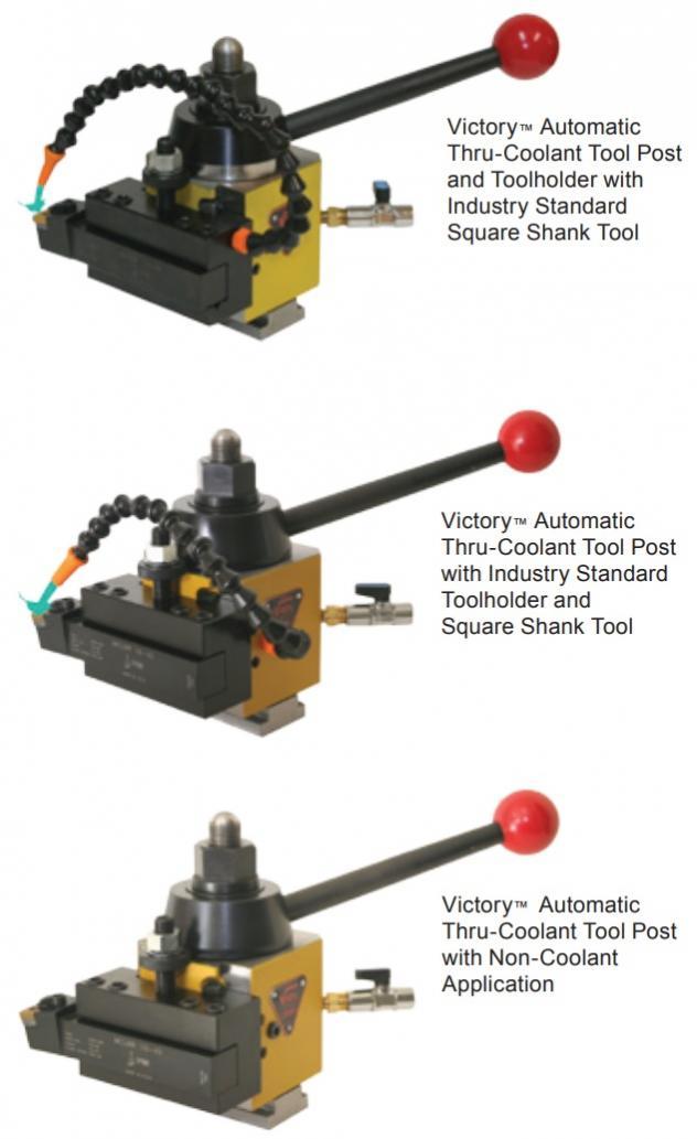 Dorian Tool V60tc Tool Post, Through Coolant, With Holders