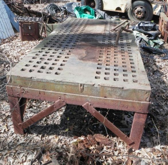 Fs Acorn Welding Table And Fisher Anvil