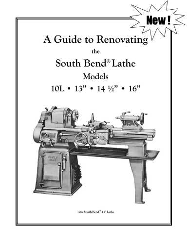new south bend lathe rebuild manual