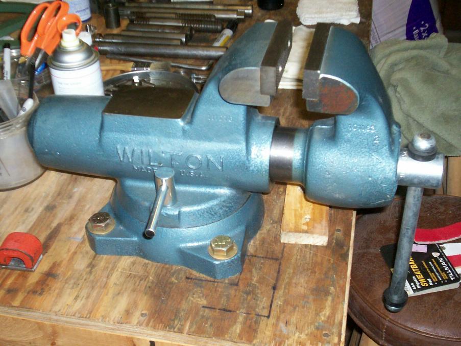 Wilton Vise Parts >> LN Wilton 450S Machinist Vise FS
