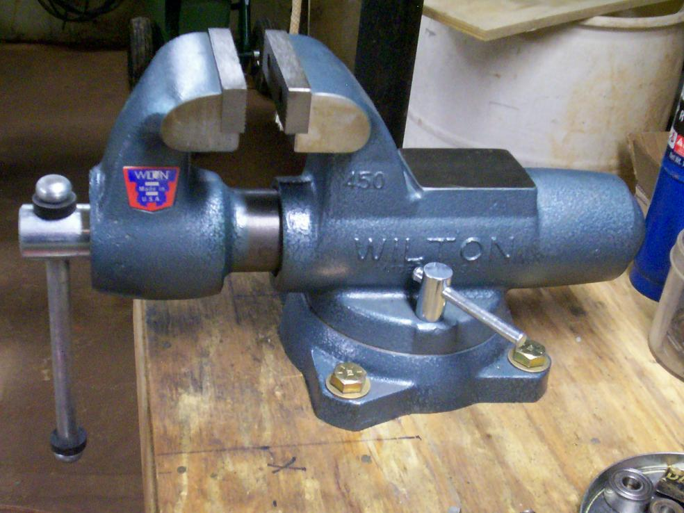 Lastest Vintage WiltonBG Heavy Woodworking Under Bench Vise 7