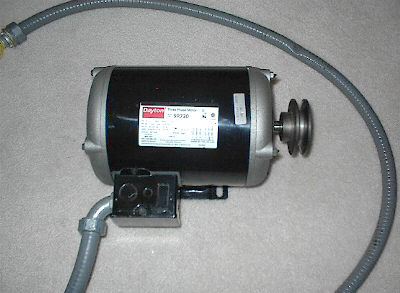 Fs dayton 3hp 3p air compressor motor for 3 hp air compressor motor