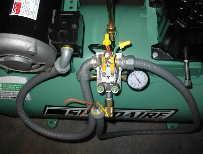 Compressor Wiring Diagram on caersa23 champion air, air lift, 5hp champion air, 30 gal husky air, pressure switch, coleman b600bpl60v air, part winding start, typical screw, porter cable air, basic air conditioner,