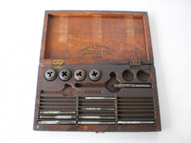 vintage ried machinist tools