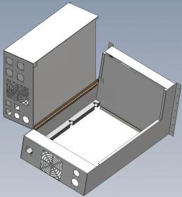 Looking For Someone To Make This Sheet Metal Enclosure