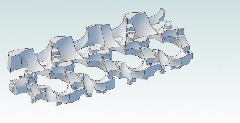 Complex Mold/Pattern Design of Non-Planar Parting Line - CAD Options