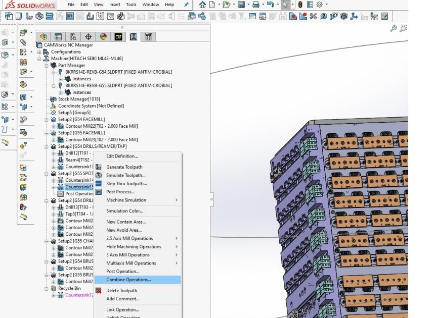 Mill Part Setups (SolidWorks/MasterCam)