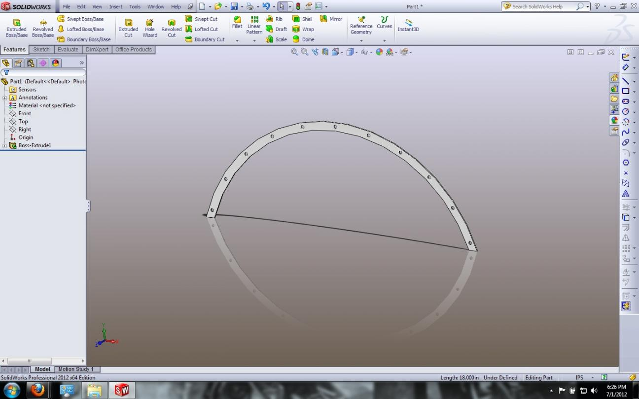 Sketching Easy Radius In Solidworks