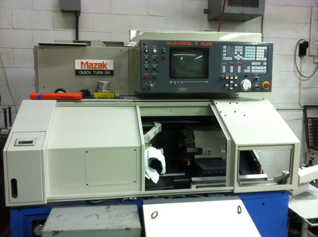 Mazak machine parameters