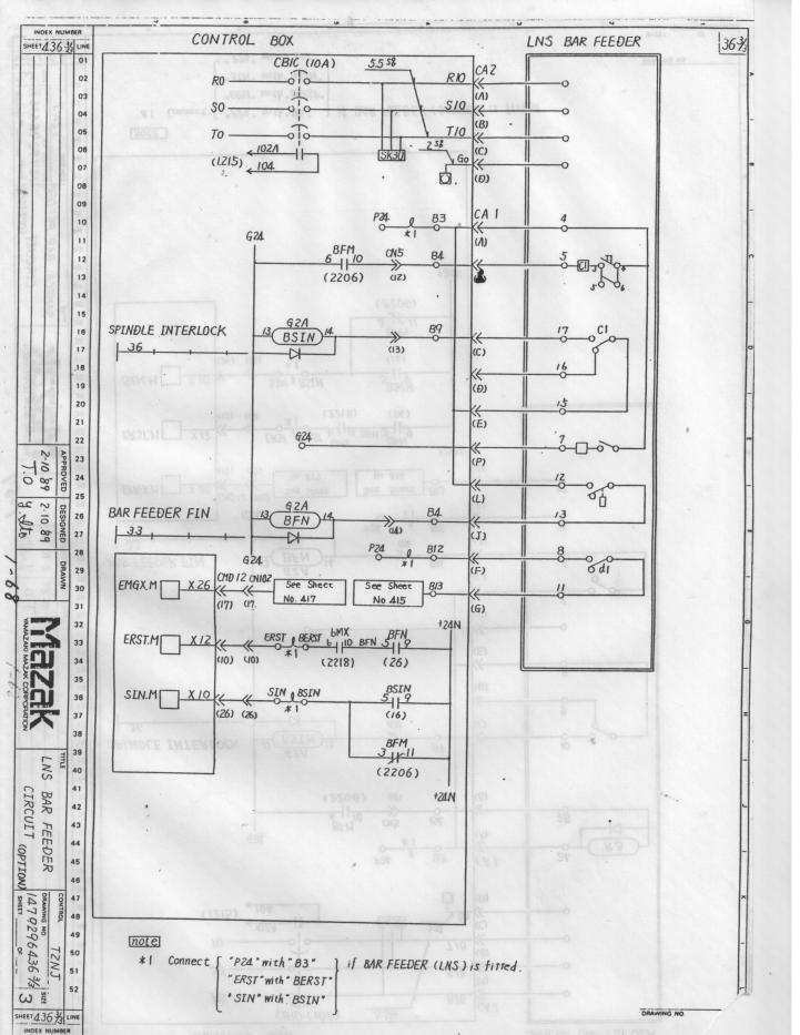 mazak qt8n barfeeder wiring mazatrol t32 2 rh practicalmachinist com