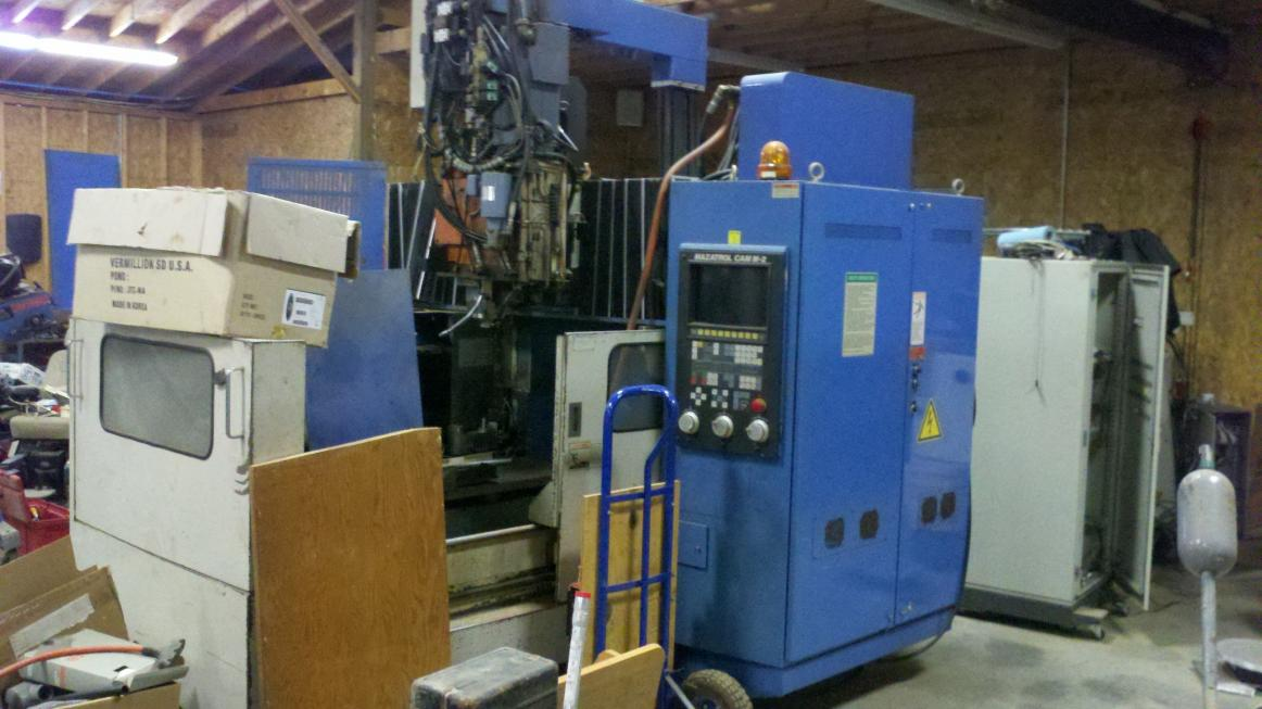 Cnc Mill For Sale >> Mazak vqc 20/40 for sale