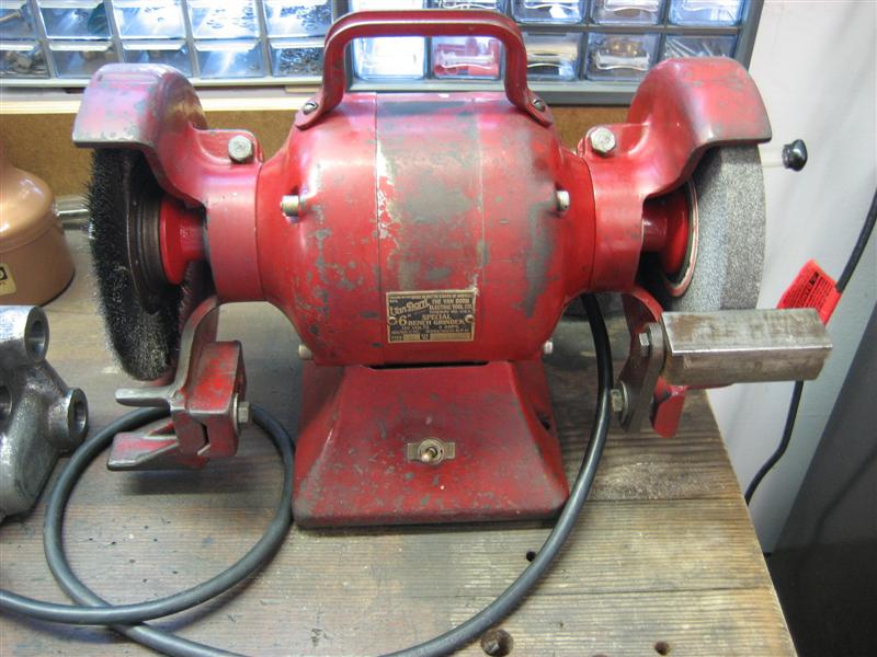 Single Wheel Bench Grinder Model Lumbrr Com