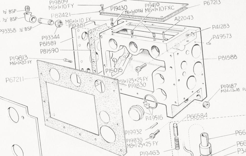 Manual Lathe Diagram