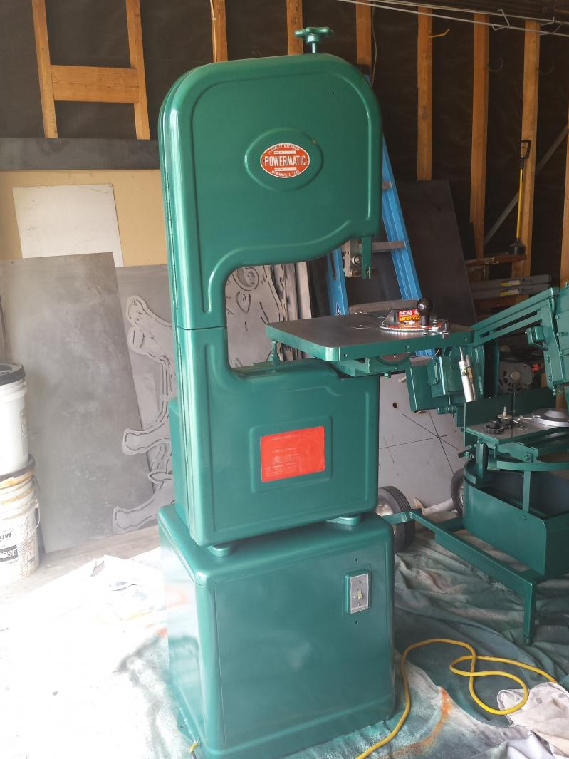 Help With A Powermatic 143 Band Saw